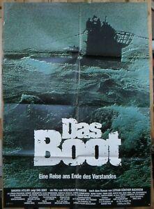 Das Boot ORIGINAL German A1 '81 POSTER The Boat shadowy art Wolfgang Petersen