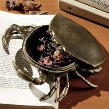 Crab Twinket Jewelry Box Coastal Nautical Beach Accent Dish Sea Life Figurine725