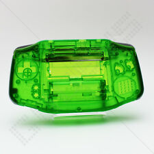New Clear Green Shell Only Nintendo Game Boy Advance GBA Housing/Case/Casing
