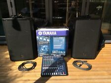 Band PA including Electro-Voice Speakers and Yamaha Mixing Console