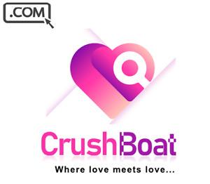 CrushBoat .com  Premium brandable Domain Name for sale CRUSH LOVE DATING DOMAIN