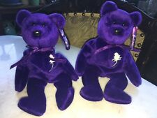 Ty Beanie Baby Pair Sold Together Princess Diana 1997 Retired Mint