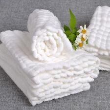 Soft Cotton Baby Infant Washcloth Bath Towel Newborn Feeding Bathing Cloth high