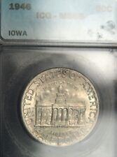 1946 Iowa Comm. Half Dollar ICG MS66 (D0318)