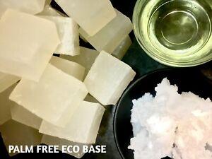 PALM FREE COCONUT OIL BASE, SLS/SLES FREE! Stephenson Melt & Pour Soap Base