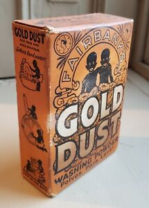 Gold Dust 5 oz. Box Lever Brothers Cleaning Powder Vintage Cancel Culture