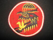 ARVN 7th BUREAU - Nam War Hand Made Patch Special Forces TECHNICAL DIRECTORATE