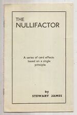 THE NULLIFACTOR by Stewart James 1954
