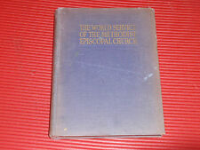 VINTAGE BOOK  THE WORLD SERVICE OF THE METHODIST EPISCOPAL CHURCH 1923  RELIGION
