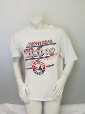 Montreal Expos Shirt (VTG) - Speeding Baseball Graphic - Men's Large