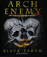 Arch Enemy Black Earth Woven Patch Official Death Metal Band Merch