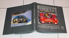 PIRELLI MOTORSPORT 95 Perfetto 1995 Annual Yearbook Formula 1 automobilismo