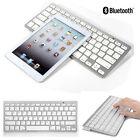 White Bluetooth Wireless Keyboard Slim Dock for Apple iPad 2 3 4 Pro Air iPhone