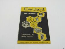 Vintage 1968 DADANT & SONS Beekeeping Honey Products Catalog : Illustrated