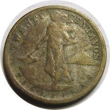 elf Philippines USA 20 Centavos 1920 Silver