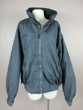 Columbia Size XL Mens Gray FullZip Windbreaker Waterproof Fleece Lined Jacket313