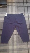 LADIES PJAMA/LOUNGE PANTS BLUE SHORT LEG DESIGN SIZE 20/22