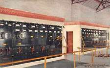 Rock Island Illinois Powerplant Switchboard Antique Postcard K45483