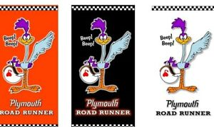 PLYMOUTH ROADRUNNER CLASSIC Magazine Advertising Vinyl Banner 2'x4' Mopar Drag