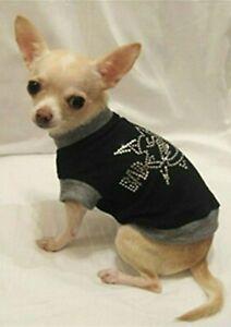 Dog t-shirt/Dog clothes/chihuahua/Bad Dog Bling/ Free Shipping