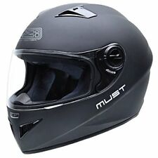 Nzi - casco integral Must II Matt Black negro mate S