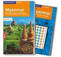 REISEFÜHRER MYANMAR BIRMA POLYGLOTT, Ausgabe 2016/17, UNGELESEN, mit Landkarte