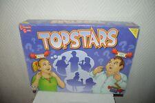 JEU  SOCIETE TOP STARS  UNIVERSITY GAMES BOARD  VINTAGE 2003 COMPLET QUI SUIS JE