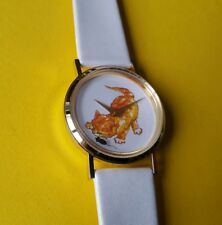 RARE VINTAGE MECCANICO Cat & Mouse Watch-handwinding