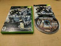 Steel Battalion (Microsoft Xbox, 2002) 100% AUTHENTIC & COMPLETE GENUINE USA