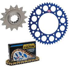 Renthal 428 Chain & 13-48 Sprocket Kit Blue For 1994-2001 Yamaha YZ80 Big Wheel