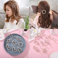 Accessories Headwear Women Pearls Hairpins Barrettes Hair Clips Hairgrip