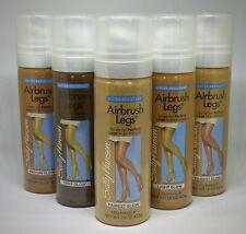 Sally Hansen Airbrush Legs Spray Leg Makeup 1.5oz Fairest Light Medium Deep Glow