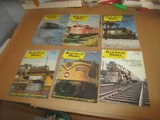 Vintage Railroad Model Craftsman Train Magazine Lot (6) 1969 1970