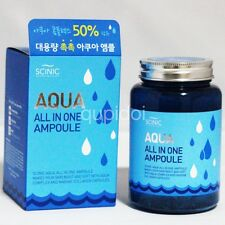 Aqua cosmetic Ampoules skin serum all in one 250ml scinic moisture