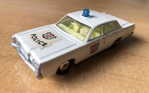 Matchbox Mercury Police Car