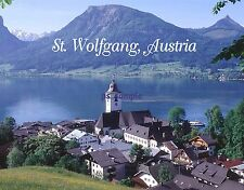 Austria - ST WOLFGANG - Travel Souvenir Fridge Magnet