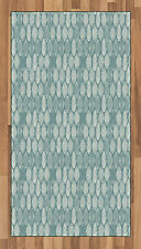 Vintage Geometry Area Rug Decorative Flat Woven Accent Rug Home Decor 2 Sizes