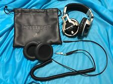 Shure SRH750DJ Professional DJ Headphones w/ cable, adapter, extra pads, bag