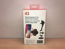 iQ Qi Wireless Fast Charger In-Car 4 in 1 For iPhone 8 X Xs Xr Max Galaxy S9