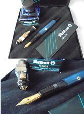 PELIKAN M 200 PENNA STILOGRAFICA BLU &NERA +SCATOLA+GAR +INCHIOSTRO Fountain Pen