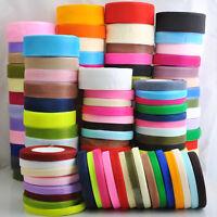 Lots Upick 50Yard/roll Mix Color/Size Organza Ribbon DIY Craft Wedding S001-S165