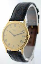 Patek Philippe Vintage Calatrava Automatic 18k Yellow Gold Mens Watch 3591J