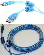 20ft long USB2.0 A Male~Female Extension Camera/Webcam/Printer Cable$SHdisc{BLUE
