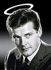 The Saint (Roger Moore) steel fridge magnet (SD v. 1 headshot)