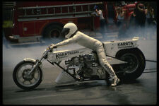 631022 A Tricked out Top Fuel Drag Bike A4 Photo Print
