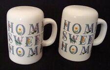 Porcelain House of Lloyd Salt And Pepper Set 1991 No Box                    1131