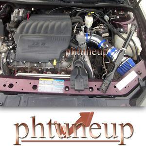 BLUE 2006-2008 PONTIAC GRAND PRIX GXP 5.3 5.3L V8 AIR INTAKE KIT + BLUE FILTER
