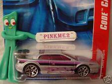 2007 Hot Wheels Code Cars LOTUS ESPRIT #94 ∞ variant silver w/magenta; y5