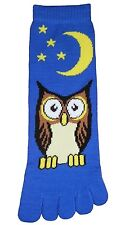 Owl (TS027) Toe Socks New Gift Fun Unique Cute