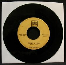 THE BEATLES-Twist And Shout+There's A Place-Light Black Box Line 45-TOLLIE #9001